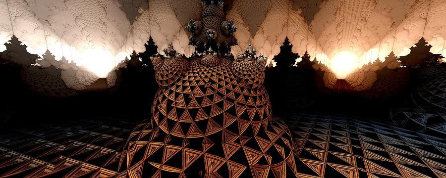 3d Fractal Digital Art - Choose A Path by Ricky Jarnagin