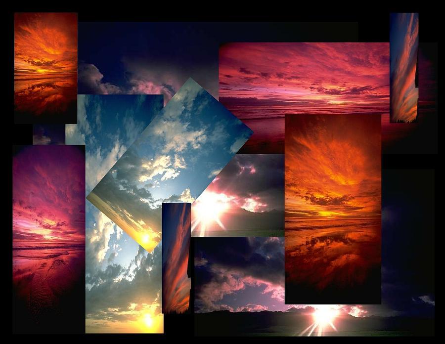 Sun Digital Art - Choose Your Own Sunrise by Darryl  Kravitz