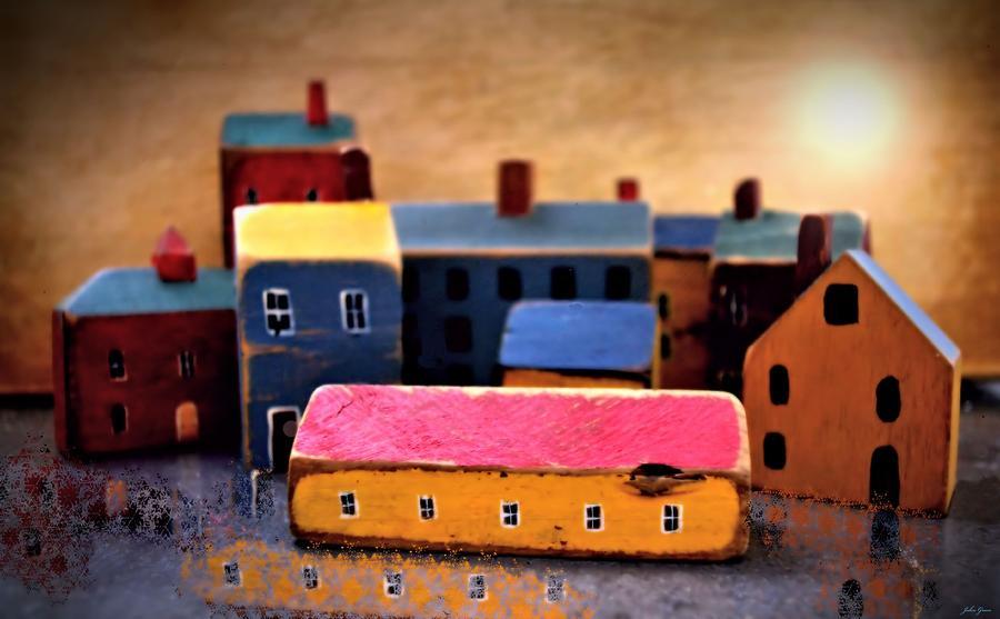 Village Photograph - Chopping Block Village by John Grace