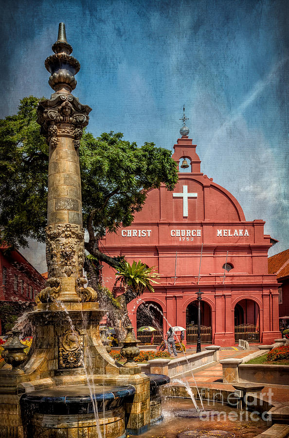 1753 Photograph - Christ Church Malacca by Adrian Evans