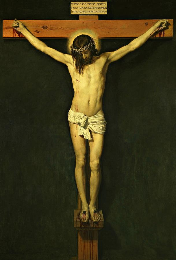 Christ Crucified 1632 by Diego Velazquez by Movie Poster Prints