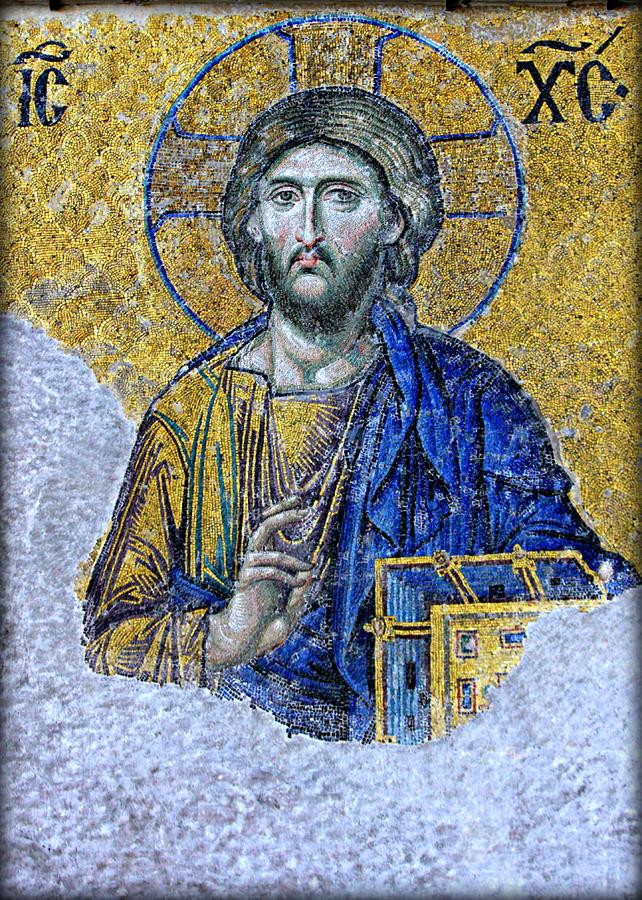 Christ Pantocrator Photograph - Christ Pantocrator II by Stephen Stookey