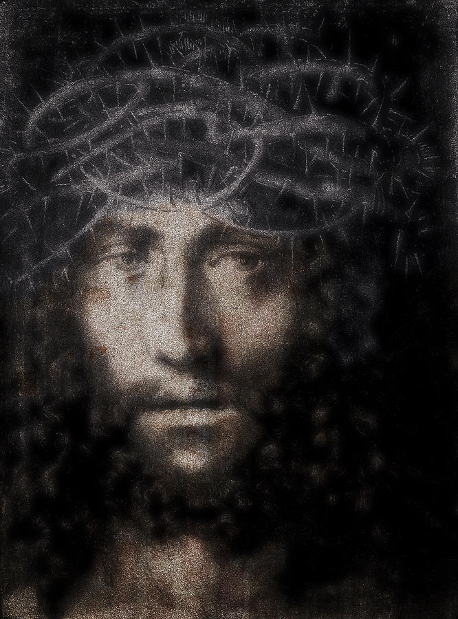 Jesus Digital Art - Christ Suffering by Daniel Hagerman