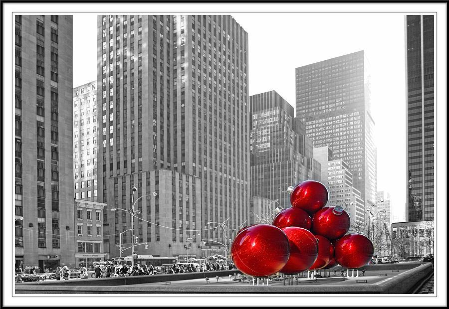 Christimas In Rockefeller Center Digital Art