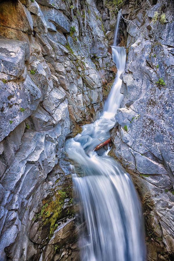3scape Photograph - Christine Falls In Mount Rainier National Park by Adam Romanowicz