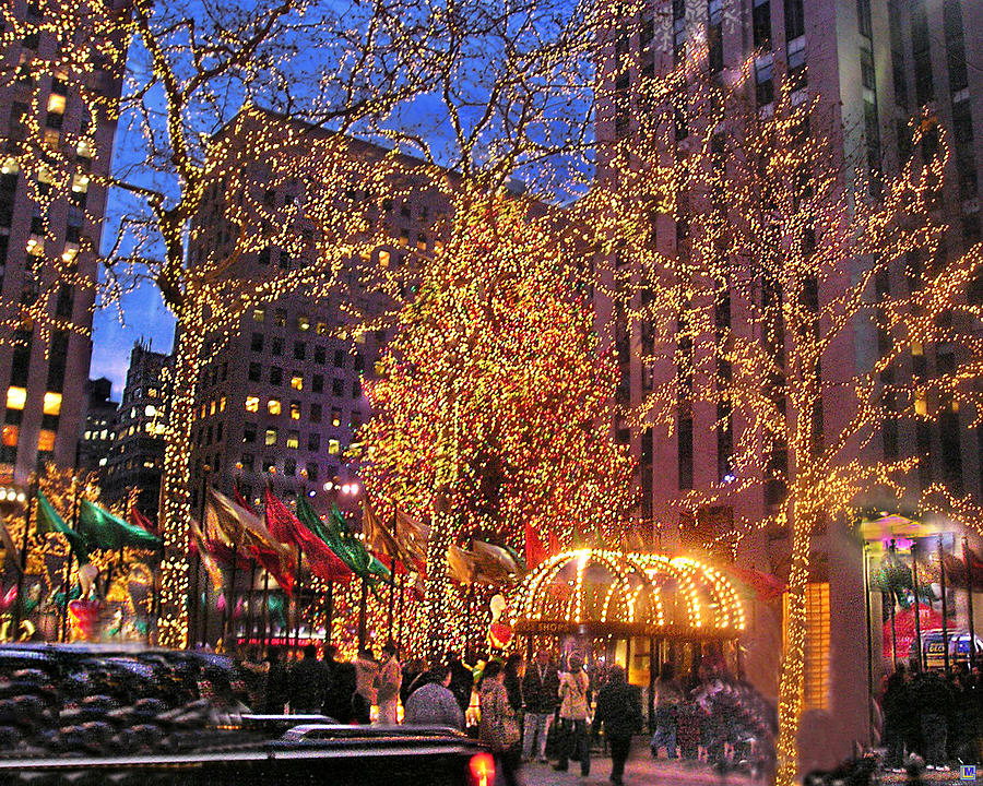 Christmas City.Christmas And City Lights Rockefeller Center 2006 1