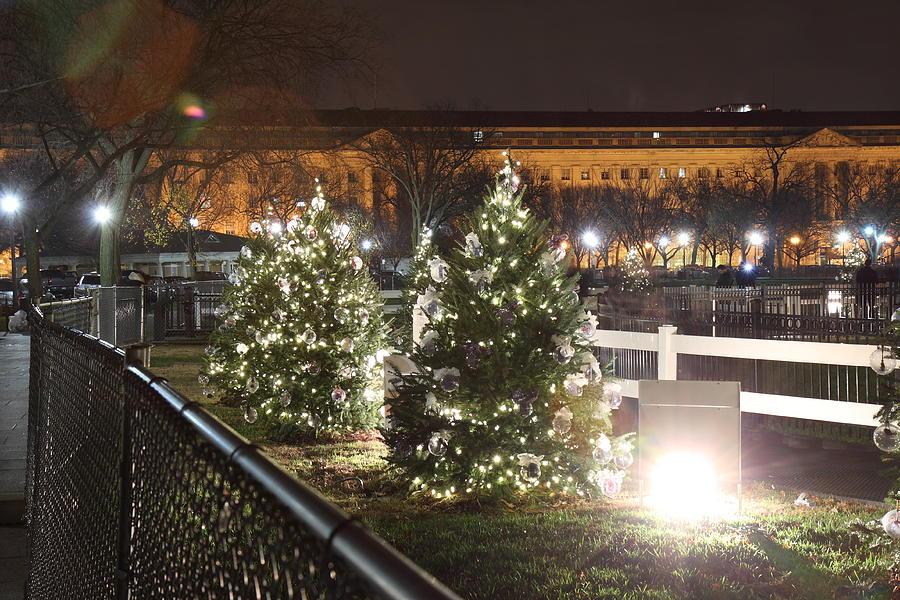 Washington Photograph - Christmas At The Ellipse - Washington Dc - 01131 by DC Photographer