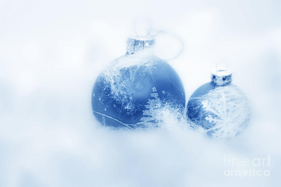 Christmas Photograph - Christmas Balls Decoration by Michal Bednarek