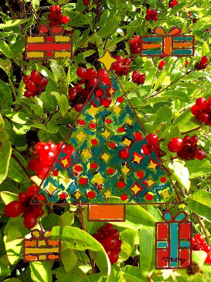 Fruit Photograph - Christmas Berries by Patrick J Murphy