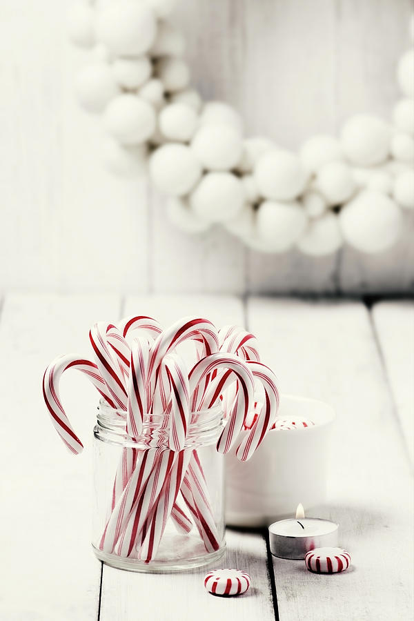 Christmas Candy Photograph by Claudia Totir