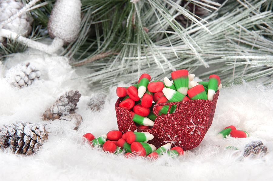 christmas photograph christmas candy in sleigh by joe belanger - Christmas Candy Sleigh
