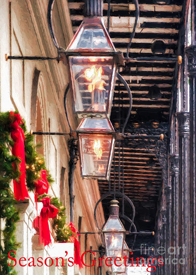 Christmas Card New Orleans Photograph by Kathleen K Parker
