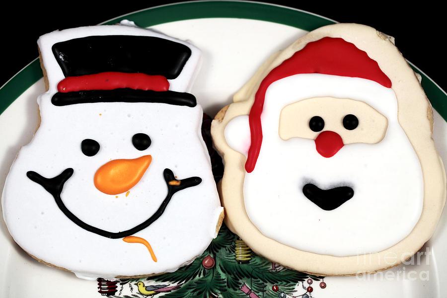 Christmas Cookies Photograph - Christmas Cookies by John Rizzuto