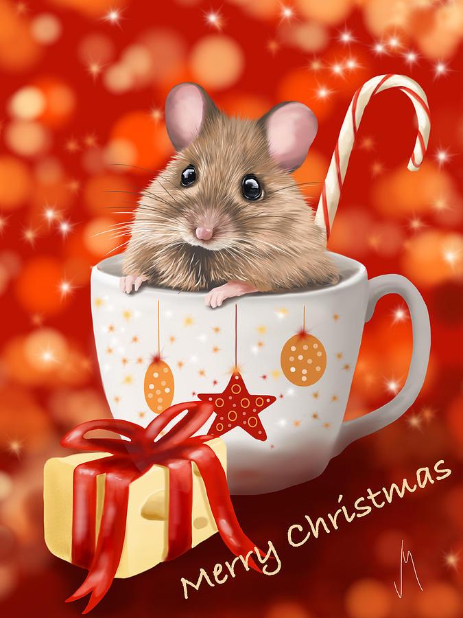 Новый год мыши открытки