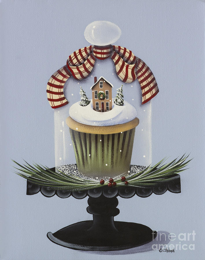 Christmas Cupcake by Catherine Holman