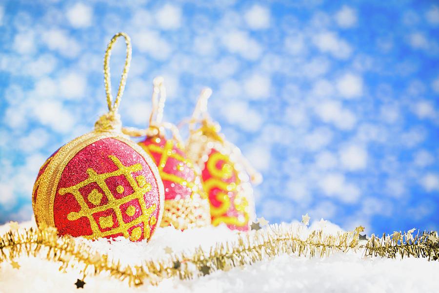 Christmas Decorations Photograph by Deimagine