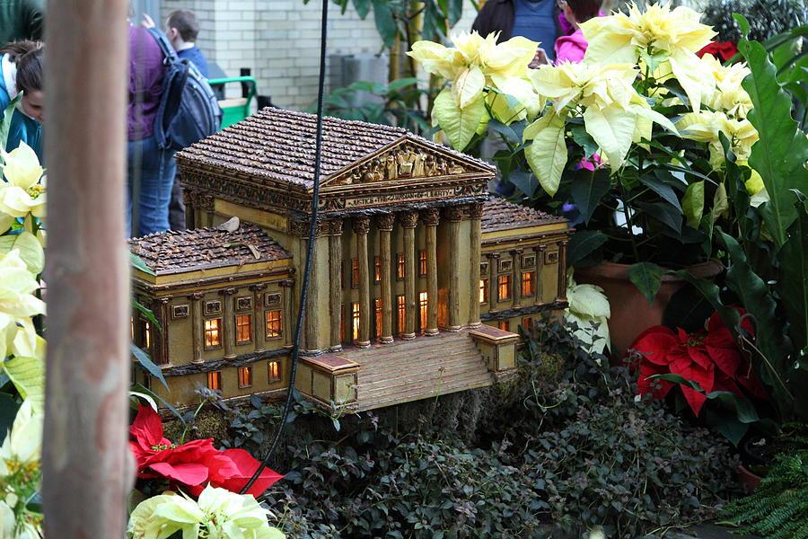 Washington Photograph - Christmas Display - Us Botanic Garden - 01133 by DC Photographer