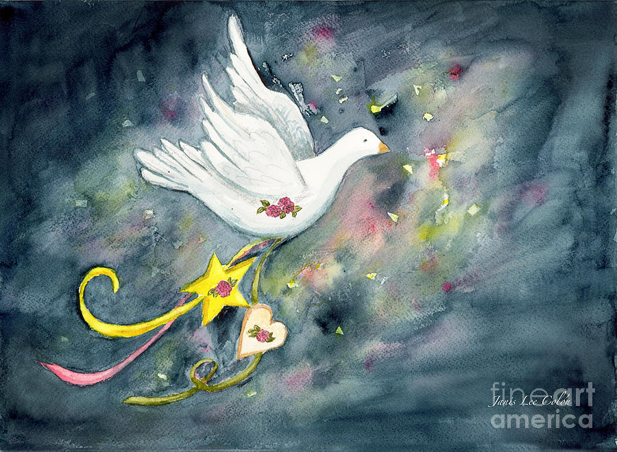 Dove Paintings Canvas