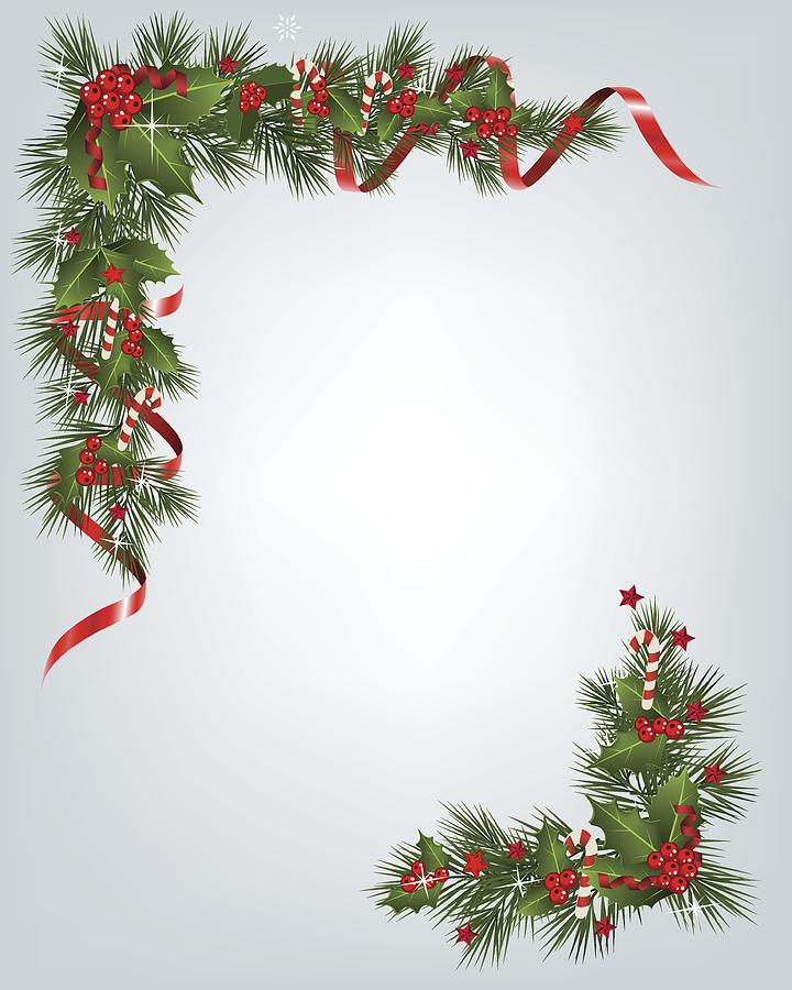 Christmas Garland Border by AndyOdo