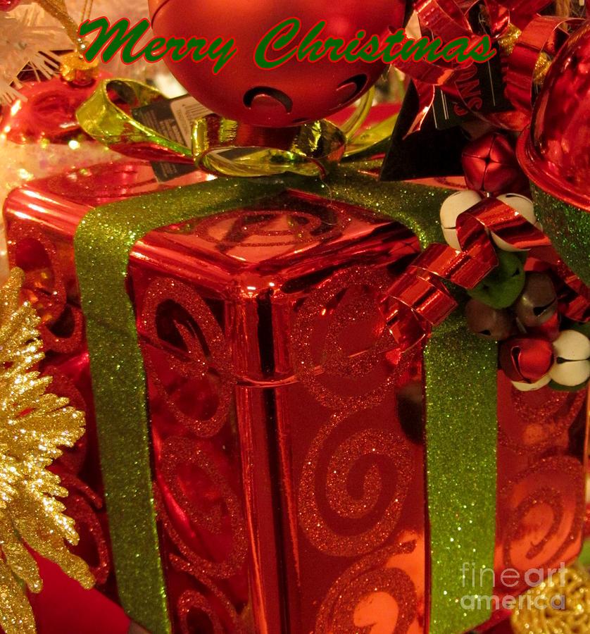 Christmas Photograph - Christmas Greeting by David Millenheft