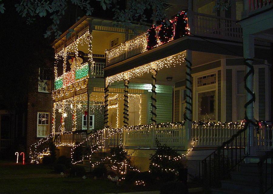 Christmas Photograph - Christmas In Charleston by Richard Marcus