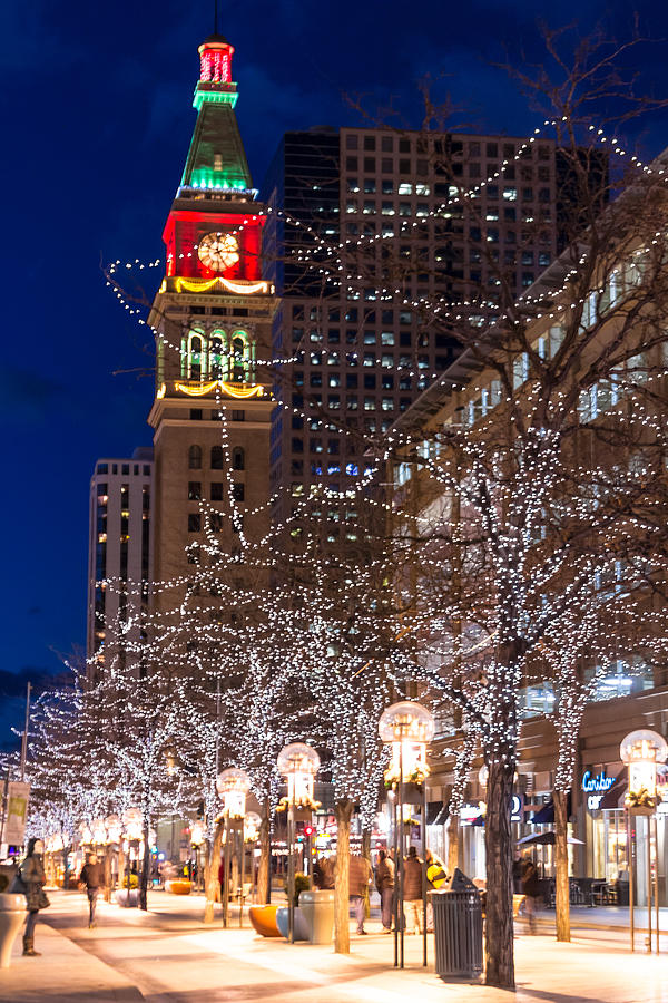 Christmas In Denver Colorado.Christmas In Denver Colorado