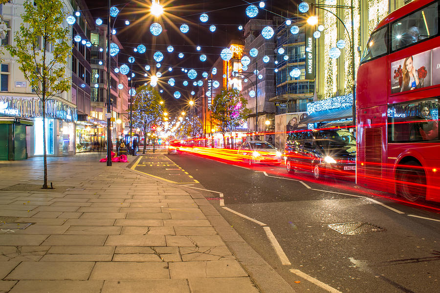 Christmas Photograph - Christmas In London by Andrew Lalchan