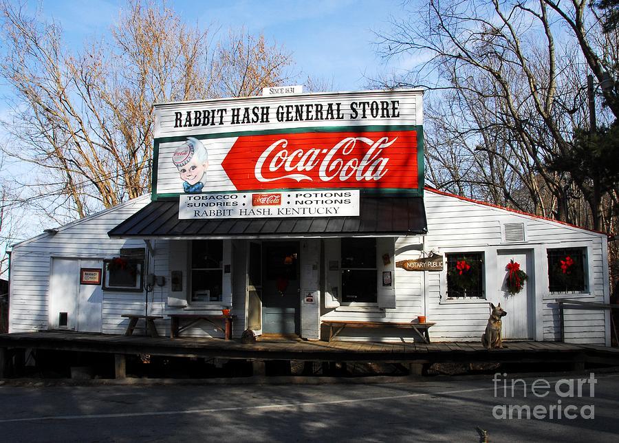 Rabbit Hash Kentucky Photograph - Christmas In Rabbit Hash by Mel Steinhauer