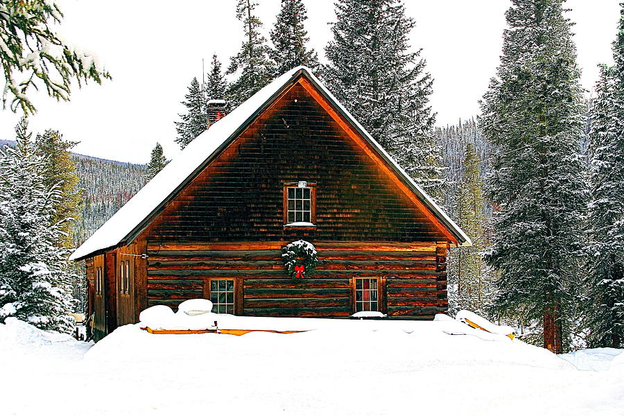 Landscape Photograph - Christmas In The Rockies by Steven Reed