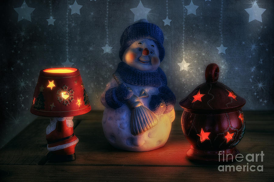 Christmas Photograph - Christmas Ornaments by Ian Mitchell