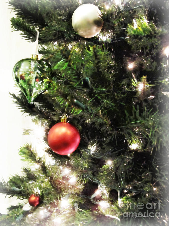 Christmas Ornaments Photograph - Christmas Ornaments by Joan  Minchak