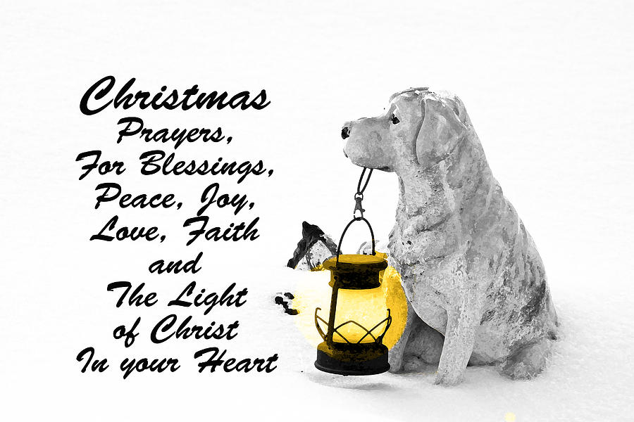 Christmas Prayers by Lorna R Mills DBA  Lorna Rogers Photography