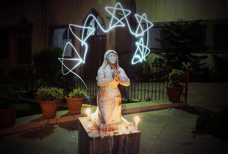 Jesus Photograph - Christmas Prayers by Money Sharma