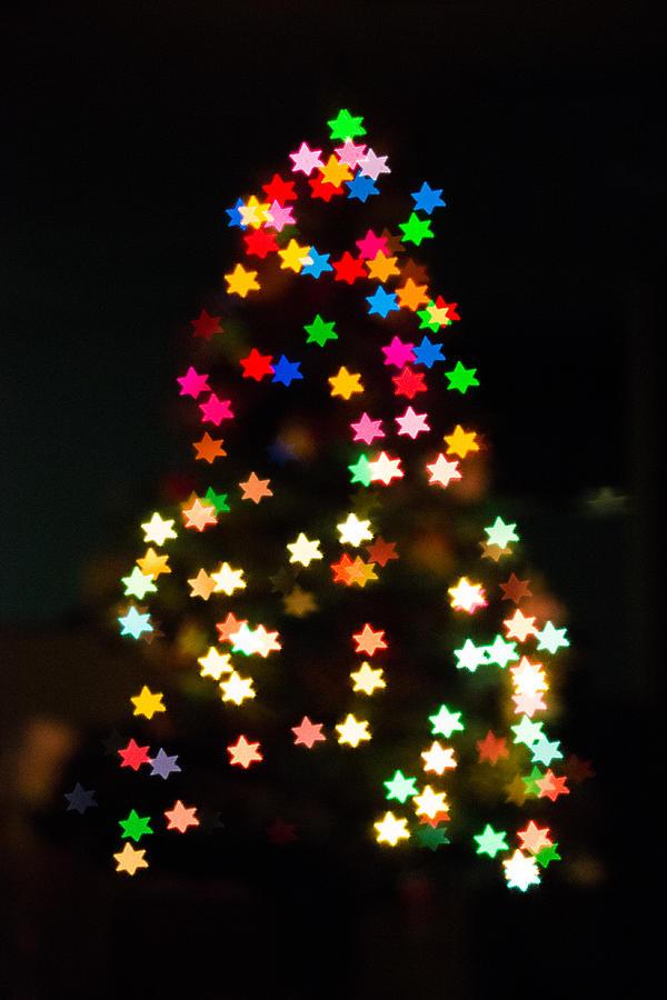 Christmas Photograph - Christmas Stars by Mike Lee
