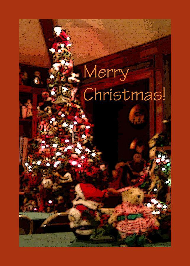Christmas Tree Santa 22000 Photograph