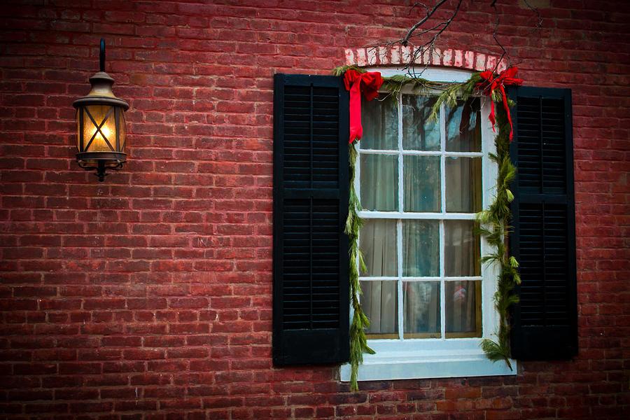 Christmas Photograph - Christmas Window #1 by Kristy Creighton