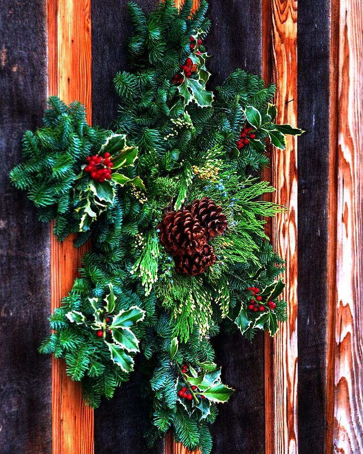 Christmas Wreath 20474 Photograph