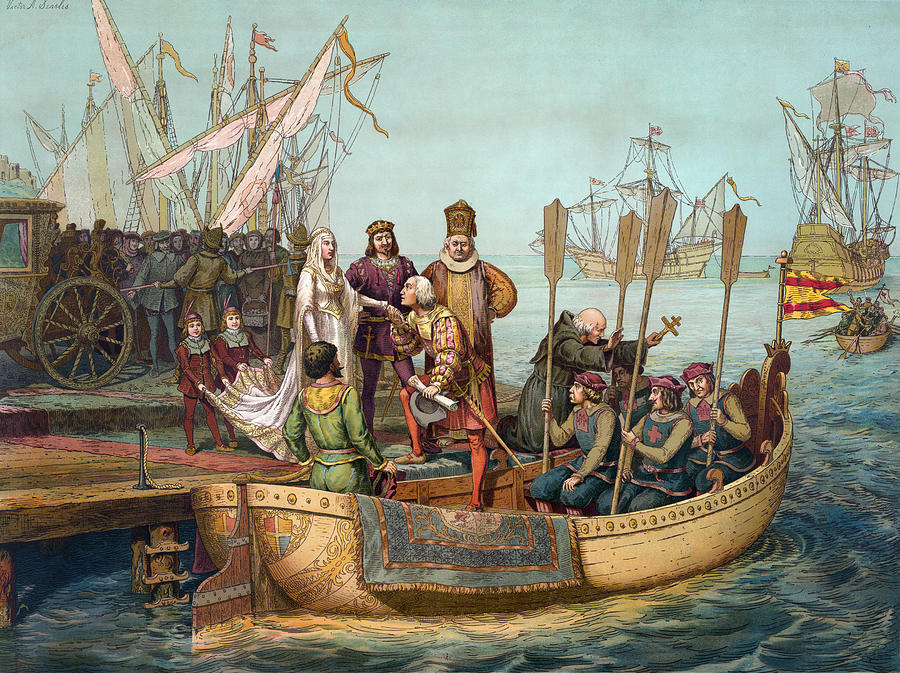 1492 Painting - Christopher Columbus (1451-1506) by Granger