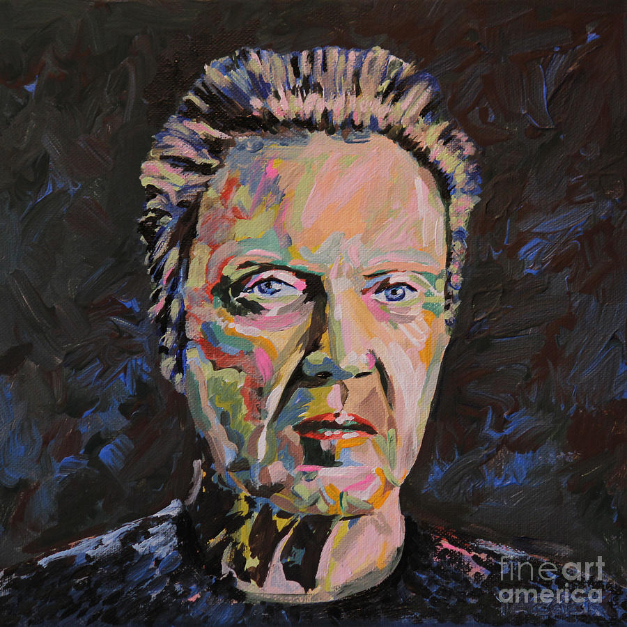 Christopher Walken Portrait Painting