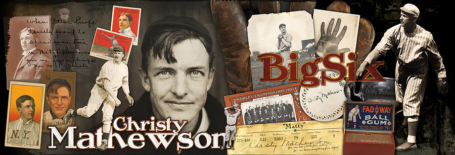 Christy Mathewson Photograph - Christy Mathewson Panoramic by Retro Images Archive