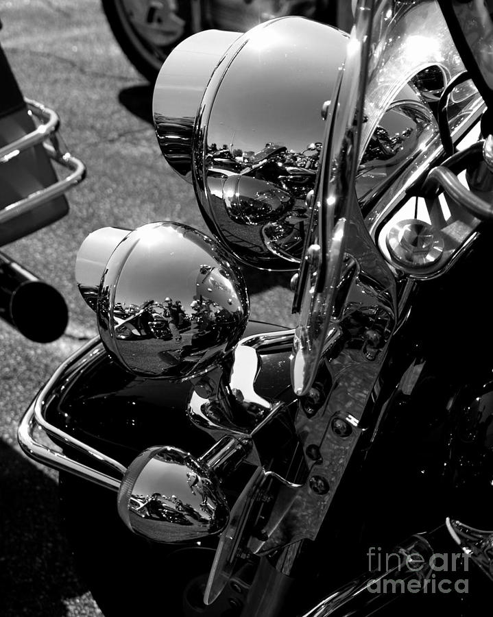 Chrome Photograph by Valeria Donaldson