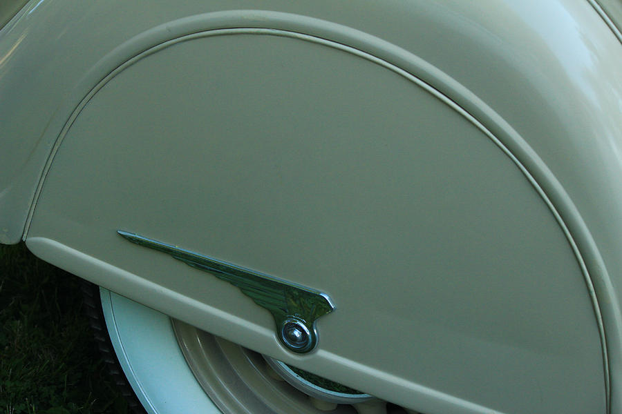 Chrysler Airflow Photograph - Chrysler Airflow by Jim Cotton