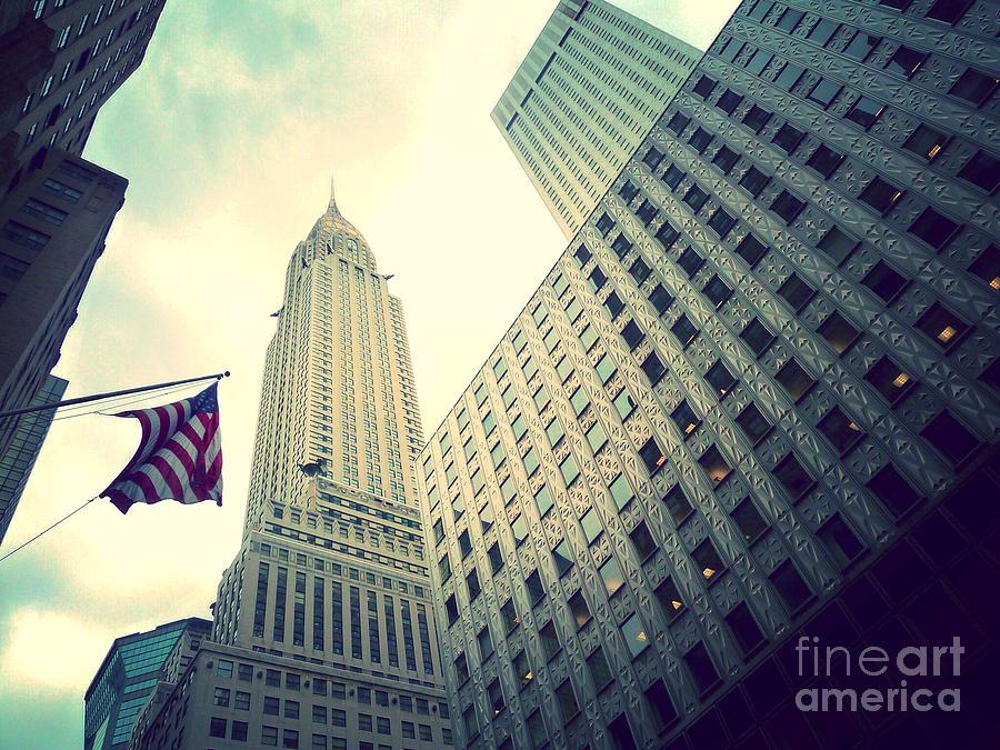 New York Photograph - Chrysler Building by Angie Gonzalez