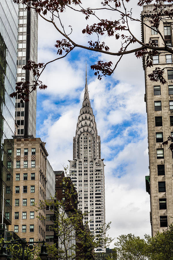 Chrysler Building Photograph - Chrysler Building by Chris Halford