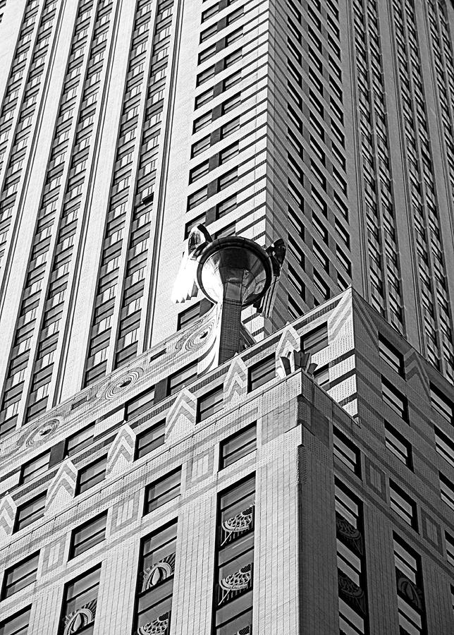 The Chrysler Building Close Up Photo Art Print Poster 24x36 inch