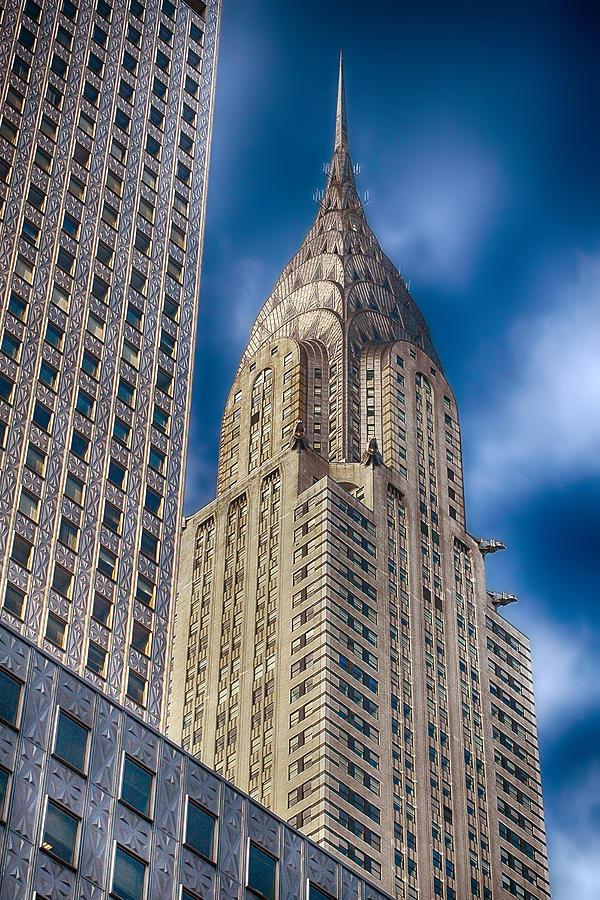 Building Photograph - Chrysler Building by Joann Vitali