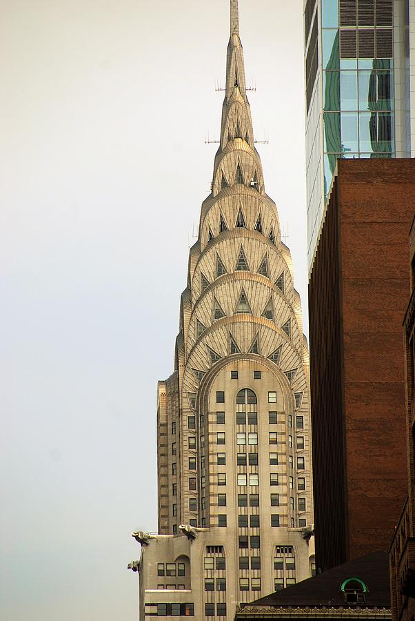 Buildings Photograph - Chrysler Building by John Schneider
