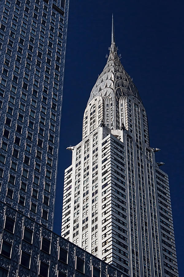1930 Photograph - Chrysler Building by Kenneth Grant