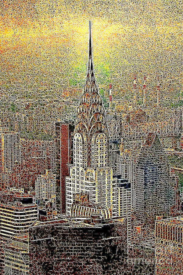 Chrysler Building Photograph - Chrysler Building New York City 20130425 by Wingsdomain Art and Photography