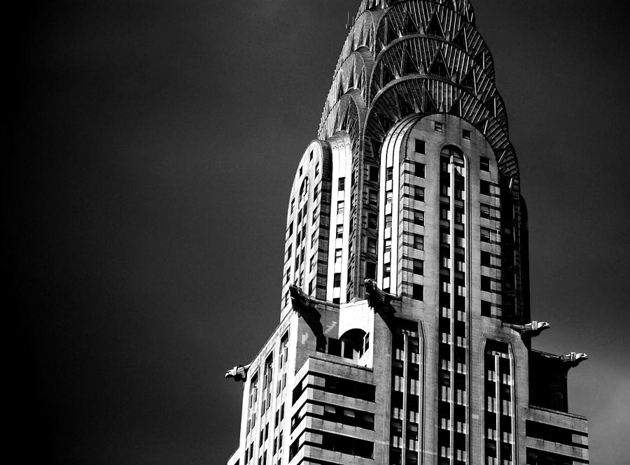 New York Photograph - Chrysler Building Nyc 1 by Ron Bartels